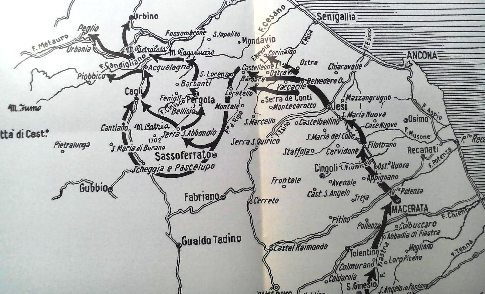 Operazioni del Corpo Italiano di Liberazione  20 luglio 31 agosto
