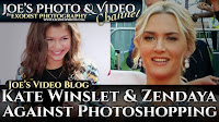 Kate Winslet & Zendaya Take A Stand Against Photoshopping | Joe's Video Blog