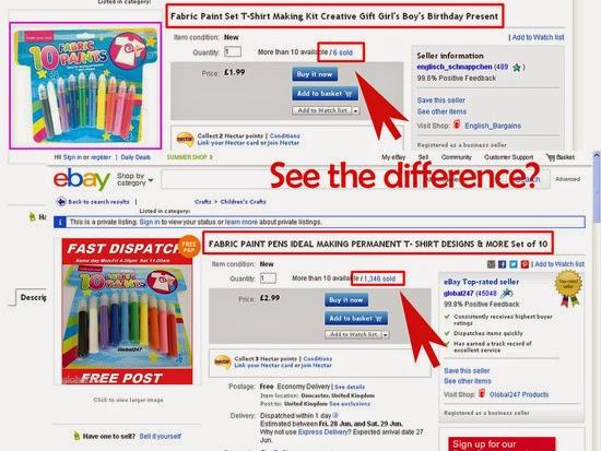 keyword effective ebay title Sample image