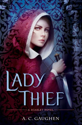 book cover of Lady Thief by A.C. Gaughen