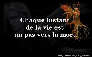 Image citation sur la mort