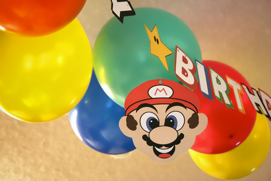 Redfly Creations Mario Birthday Party With Free Printables