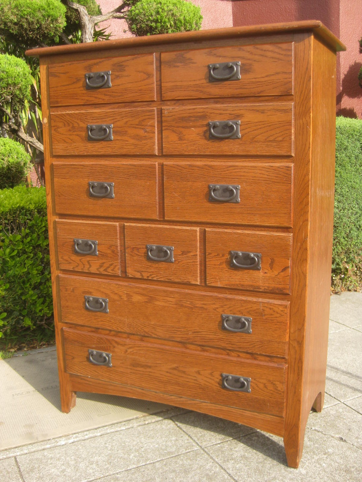 Uhuru Furniture Collectibles Sold Shaker Style Highboy 160