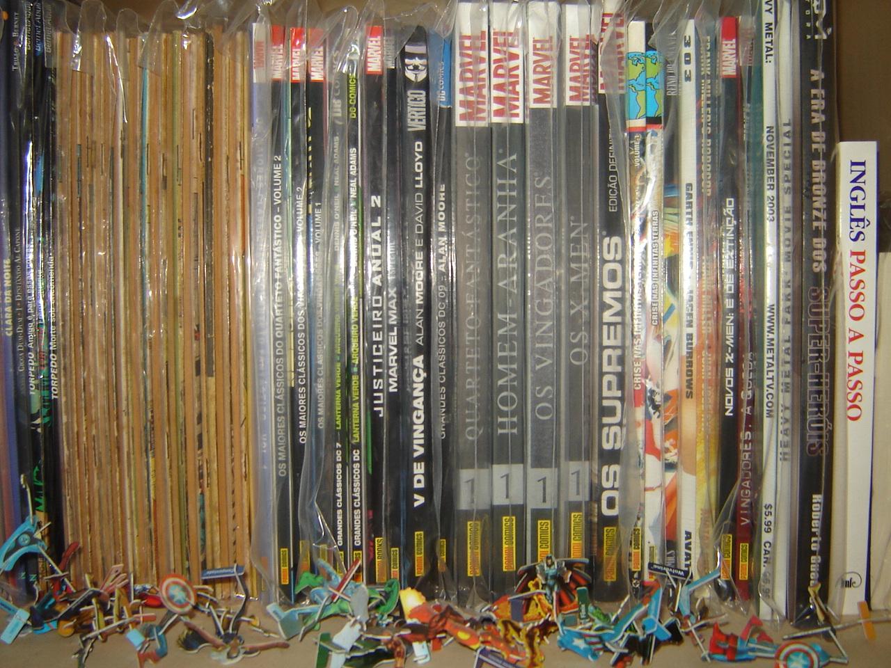 Como guardar e conservar as revistas, dicas? DSC01273