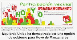 Izquierda Unida ha demostrado ser una opción de gobierno para Hoyo de Manzanares
