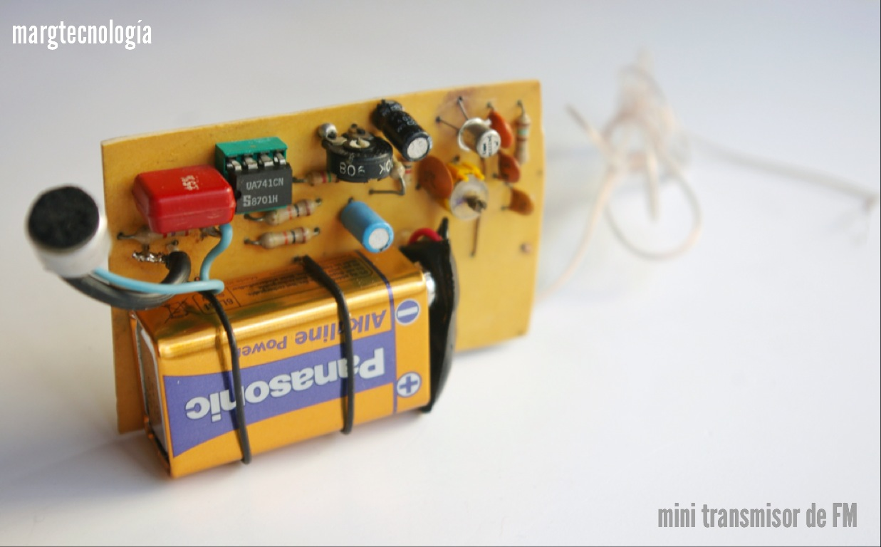 Circuito Bluetooth Casero : MargtecnologÍa: presentacion de un sencillo mini transmisor fm.