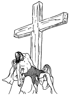 coloring pages of jesus christ removed from the cross - Coloring Pages Jesus Cross