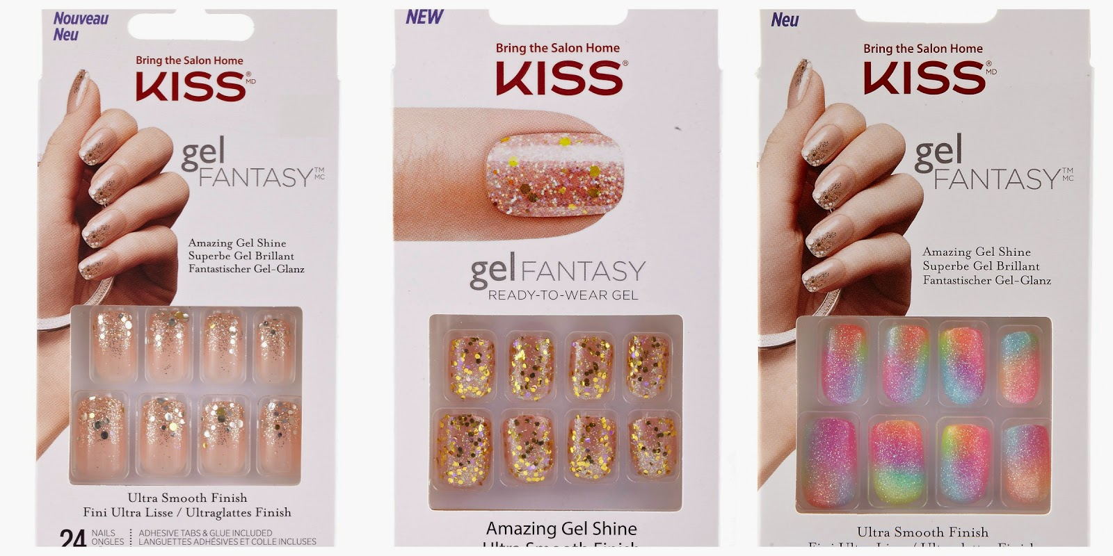 GIVEAWAY   Kiss Gel Fantasy Nails   What Laura Loves