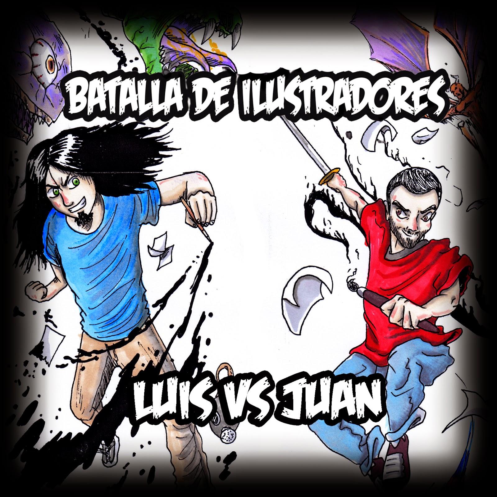 http://luisocs-comics.blogspot.com.es/p/batalla-de-ilustradores-luis-vs-juan.html