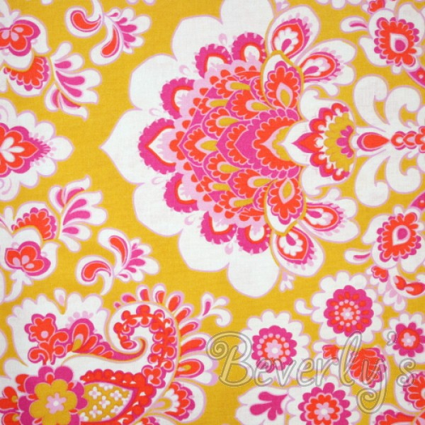 Paisley fabric print at Beverly's discount fabric