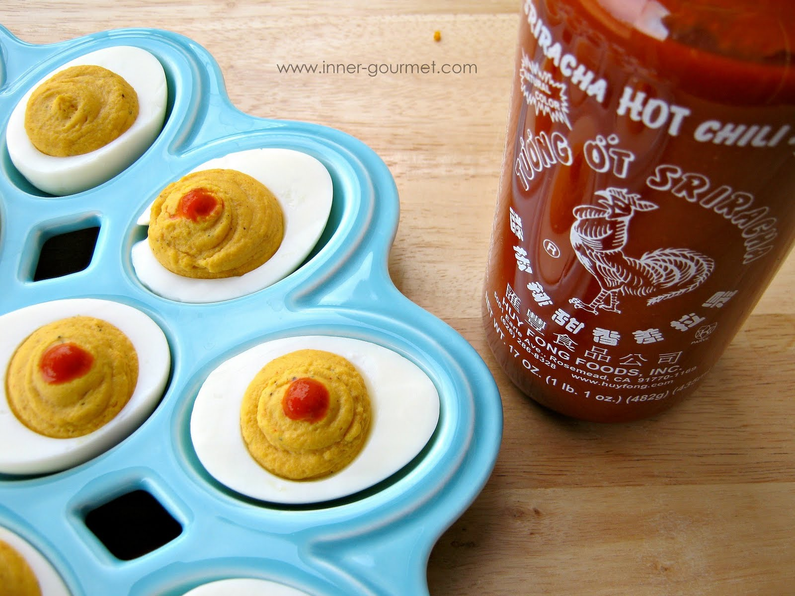 how to serve deviled eggs