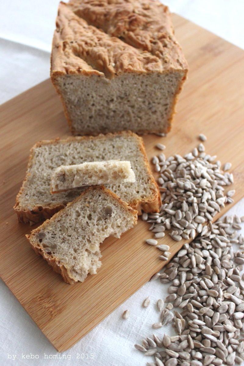 Brot backen, Sonnenblumenkerne, Rezept, Kastenbrot, easy-peasy-bread
