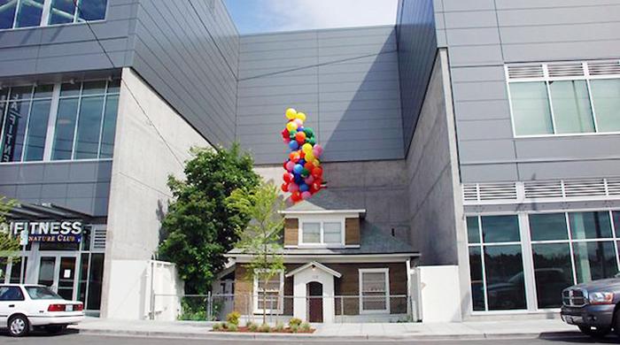 La casa que inspiró la película Up
