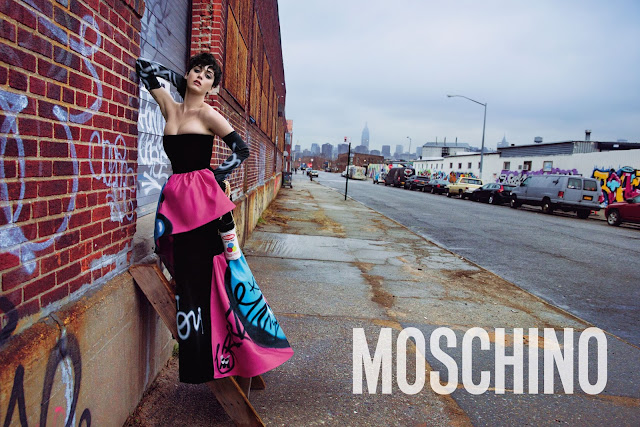 Katy Perry Bares All In Moschino's FULL Fall/Winter 15 Ad Campaign