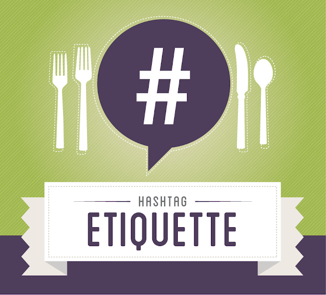 image: cial etiquette for using hashtag