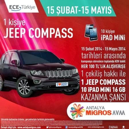 Antalya-Migros-AVM-Çekiliş-Kampanyası-Antalya-Migros-AVM-Jeep-Compass-Çekilişi