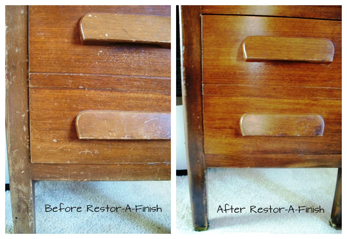 RESTORE ANTIQUE FURNITURE WITHOUT STRIPPING – AMAZING!