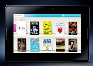 Kobo to be preloaded on PlayBook, adds BBM enabled Social eReader App