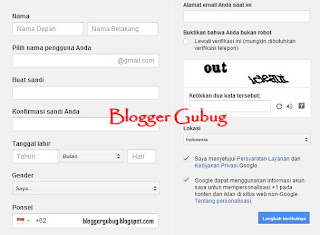 registrasi gmail