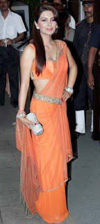 Geeta Basara at Director Rohit Shetty's sister's wedding