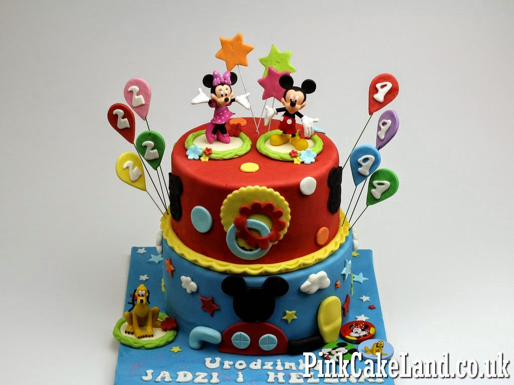 Mickey Minnie Mouse Cakes