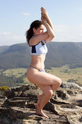 Khade hokr karne wale Yoga Asan