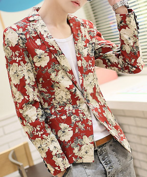 http://www.perfectmensblazers.com/shop-mens/outlet/men-clothing/blazers-cool-red-blazer-with-artistic-floral-print-p-412.html