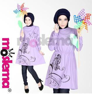Trend Fashion Baju Muslim Kaos Lebaran untuk Remaja