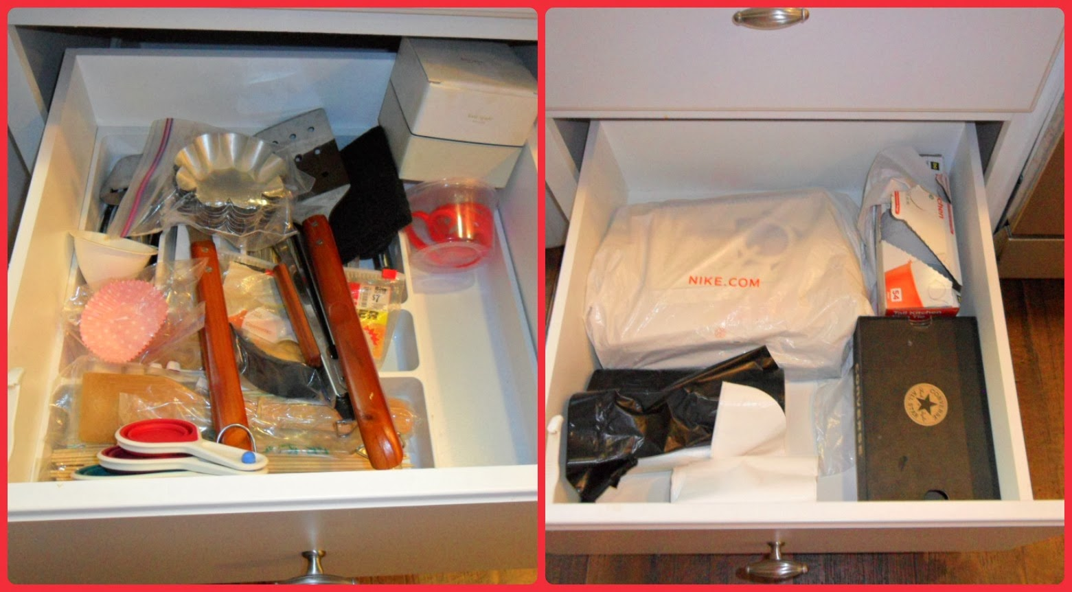 Home for4 sweet home kitchen organizing deep drawers - Organizing desk drawers ...