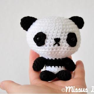 Patrones Amigurumi: Oso Panda