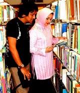 Dunia Buku Ikang Fawzi & Marissa Haque