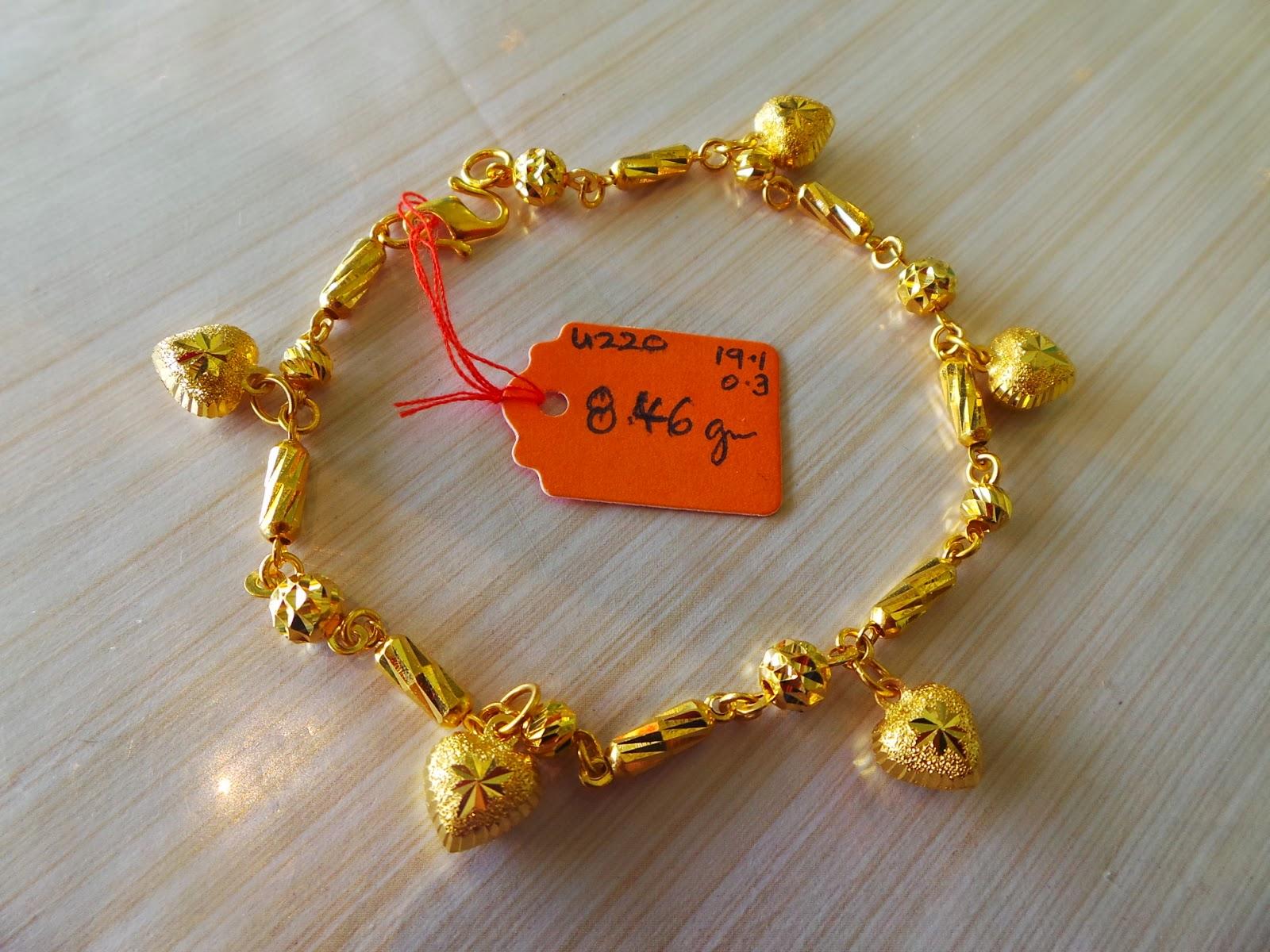 SOLD Rantai Tangan Kayu Berkait Buah Love 846g U220 19