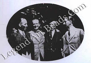 The Cartier clan in 1922 From left to right: Pierre, Louis, Alfred (the father) and Jacques.