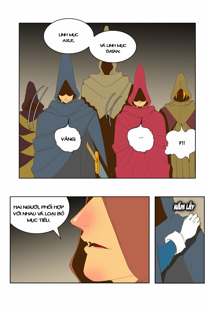 Chúa tể học đường chap 44 - Trang 28