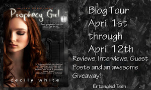 Prophecy Girl Book Blog Tour