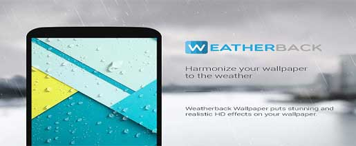 Weatherback Weather Wallpaper Pro v1.5.7.4 Paid