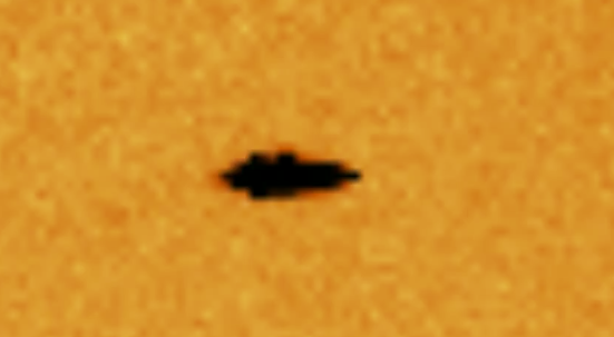 Huge UFO Caught Between Earth And Sun 2015, UFO Sightings