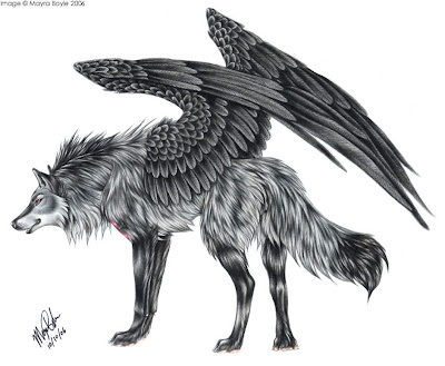 Winged_Tribal_Wolf_Tattoos_by_huskie666