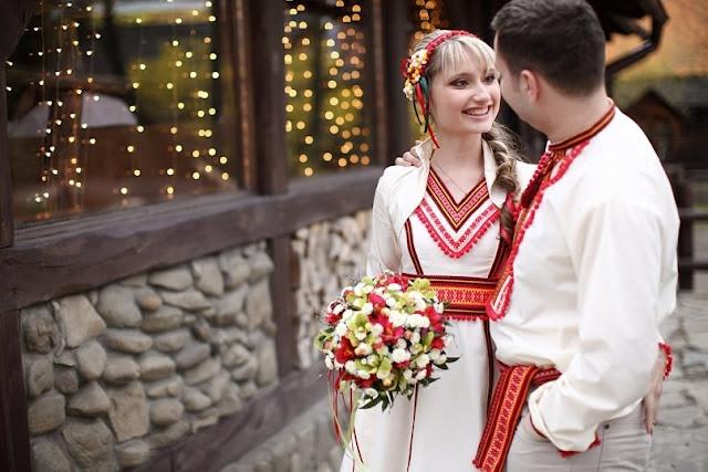 Українське весілля, одяг молодят від студії Гойра, Львів