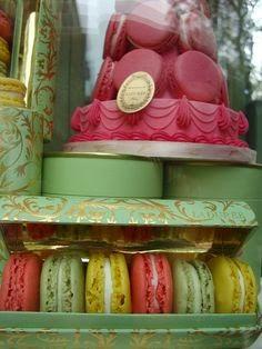 Ladurée colourful macarons