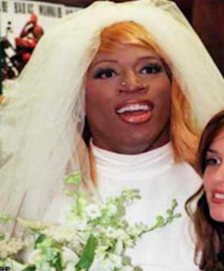 dennis rodman wedding