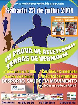 IV Prova de Atletismo Terras de Vermoim - 23 de Julho de 2011
