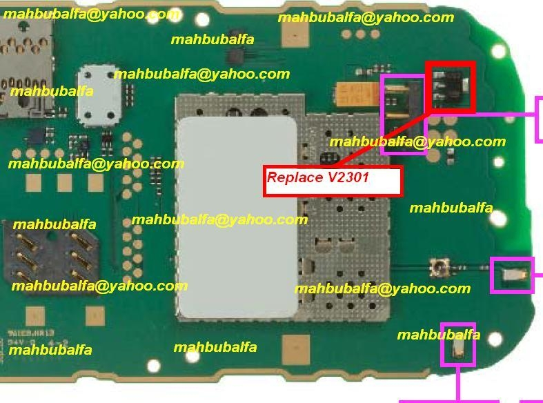 Nokia Battery Connecter Track Ways