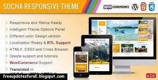 Socha Responsive WordPress Theme Free Download