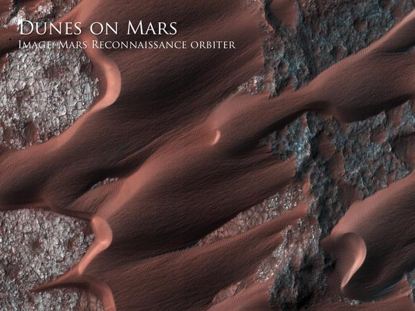 Dunas en Marte