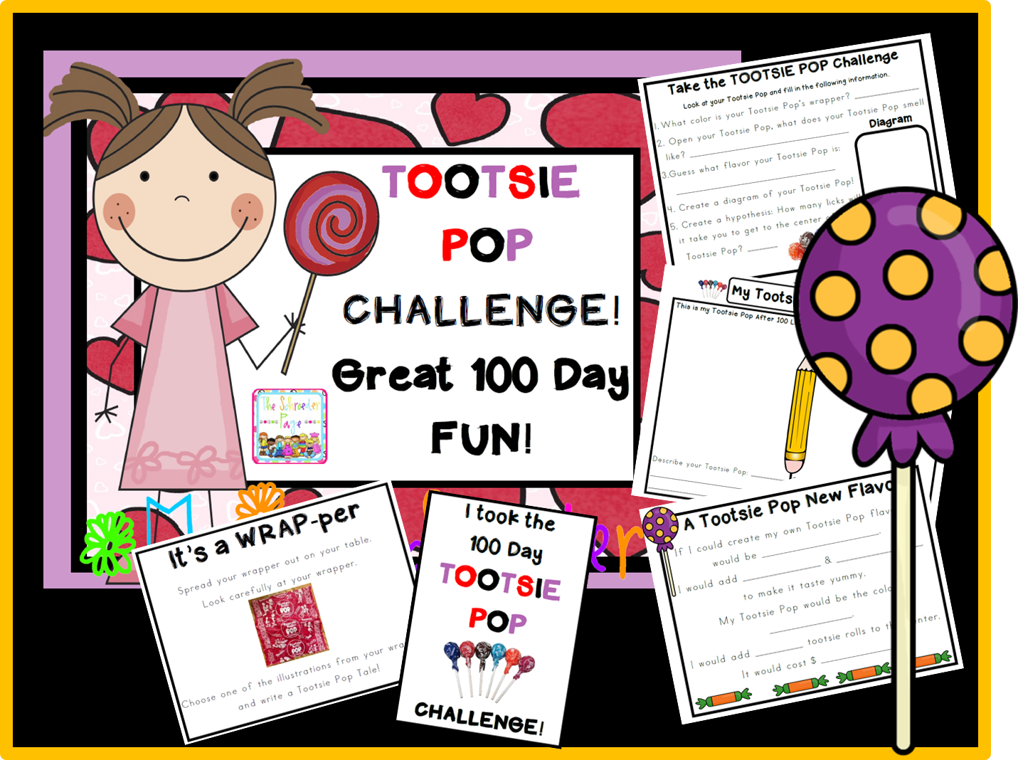 100th Day Teaching Activities The Schroeder Page