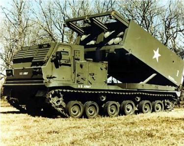 10 Kendaraan Militer Paling di Dunia: M270 Multiple Launch Rocket System (M270 MLRS)