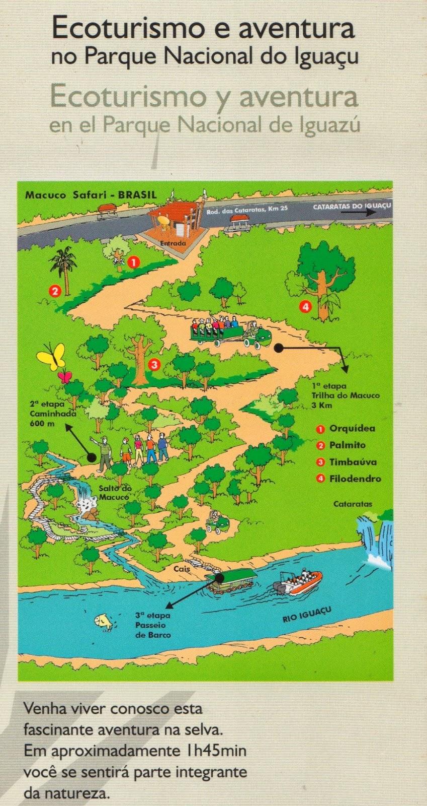 Lado brasileiro das Cataratas e Macuco Safari