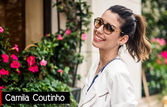 Blogueira Camila Coutinho