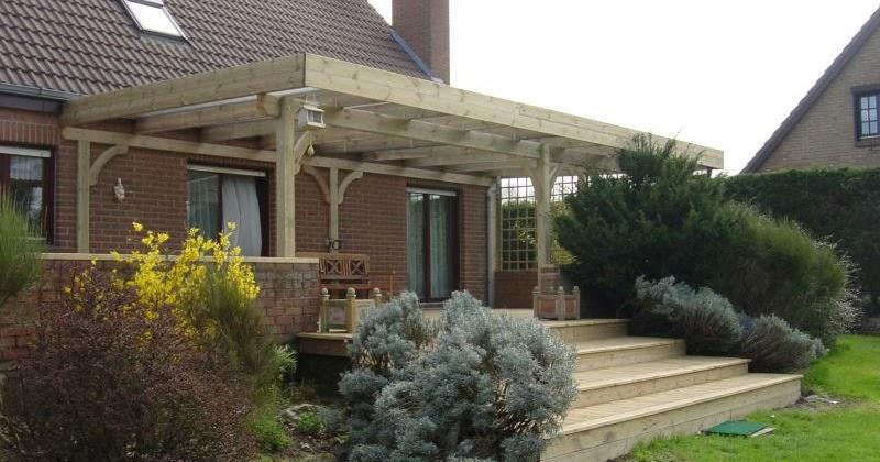 terrasses et piscines en bois demandez votre pergola en bois sur mesure. Black Bedroom Furniture Sets. Home Design Ideas